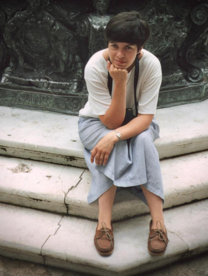 Diana Newbery in Venice